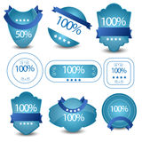 Satisfaction Guaranteed Label or banner and Sticker Vintange Royalty Free Stock Images