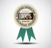 Satisfaction guaranteed label vector illustration Stock Photo