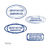 Satisfaction guaranteed, stamp collection Royalty Free Stock Photography