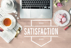Satisfaction Happy Service Client Customer User Concept. Satisfaction Happy Service Client Customer User Royalty Free Stock Photo