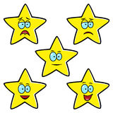 Satisfaction Level Stars Stock Image
