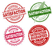 Satisfaction stamps Stock Photos