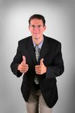 Satisfied business men Royalty Free Stock Photos
