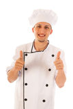 Satisfied cook Royalty Free Stock Images