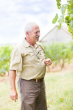 Satisfied horticultural expert Stock Photos