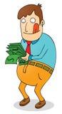 Satisfying salary Stock Photos