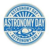 Satmp del día de la astronomía Foto de archivo libre de regalías