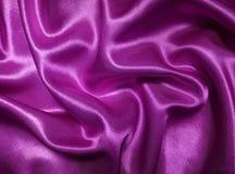 Satén púrpura Fotos de archivo