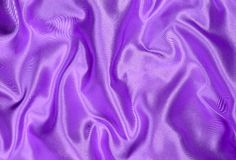 Satén púrpura Fotografía de archivo