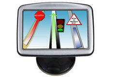 Satnav roadmap Royalty Free Stock Photo