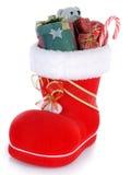Satnta's shoe Royalty Free Stock Images