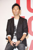 Sato Kashiwa. (佐藤可士和), Creating Director of UNIQLO, attended UNIQLO opening press meeting on Sep.6, 2010 in Taiwan royalty free stock image