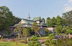 Sato Museum di arte a Toyama, Giappone Fotografia Stock