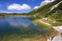 Satorsko lake - in the western regions of Bosnia Stock Photo