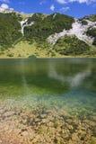 Satorsko lake - in the western regions of Bosnia Stock Photo