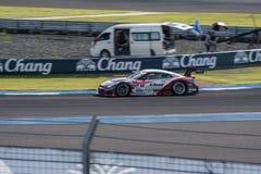 Satoshi Motoyama de MOLA dans la course finale superbe du GT 66 recouvrements à 2015 Image stock