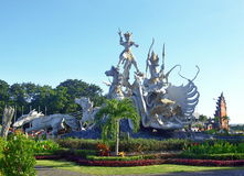 Satria Gatotkaca Statue, Bali Stock Photo