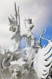 Satria Gatotkaca Statue, Bali, Indonesia. Image of the Satria Gatotkaca Statue, a landmark at Kuta, Bali, Indonesia Royalty Free Stock Images