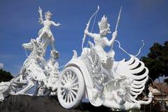Satria Gatotkaca Statue, Bali, Indonesia. Image of the Satria Gatotkaca Statue, a landmark at Kuta, Bali, Indonesia Stock Images