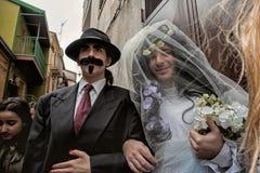 SATRIANO LUCANIA karnawał ZITA fotografia stock