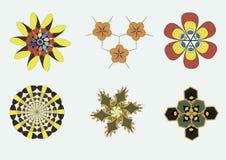 Sats av tecken Royaltyfria Bilder