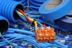 Sats för elektrisk del Royaltyfri Fotografi