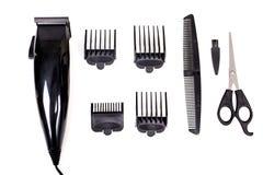 Sats för håromsorg arkivfoton