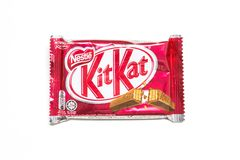 Satskat-choklad Arkivbild