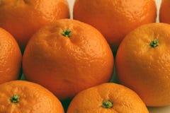 Satsuma-mandarijnen Royalty-vrije Stock Fotografie