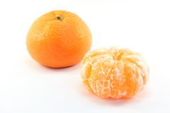 Satsuma orange. This is a Satsuma orange is eaten a lot in Japan Stock Images