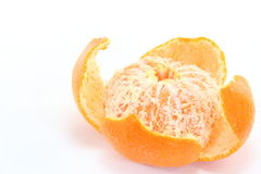 Satsuma orange. This is a Satsuma orange is eaten a lot in Japan Stock Photography