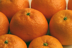 Satsumas Royalty Free Stock Photography