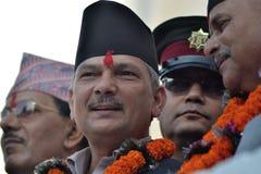 Satt i gång Minster av Nepal royaltyfri fotografi