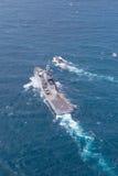 SATTAHEEP, THAILAND - June 21: H.T.M.S. Krabi, an offshore patro Stock Photos