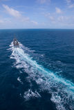 SATTAHEEP, THAILAND - June 21: H.T.M.S. Krabi, an offshore patro Royalty Free Stock Photos
