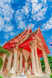 Sattahip district temple at Chonburi,Thailand Stock Images