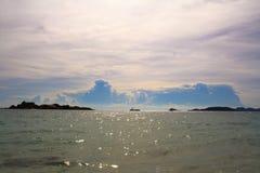 Sattahip - Koh Samaesan Thailand. The beach at Sattahip - Koh Samaesan Thailand Stock Photo