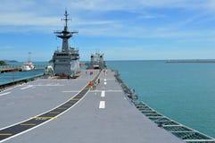 Sattahip naval base Stock Photos