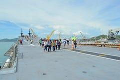 Sattahip naval base Royalty Free Stock Photo