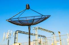 Sattelite disk antenna Royalty Free Stock Image