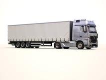 Sattelschlepper-LKW lizenzfreie stockbilder