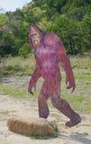 SATTLER, TEXAS: am 31. März 2018 - ein Bigfoot oder ein Sasquatch lebensechtes S Lizenzfreie Stockfotos