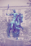 Satue of Jeanne d'Arc, Reims Stock Photography