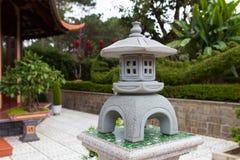 Satue of pagoda in Dalat. Vietnam. Stock Photography