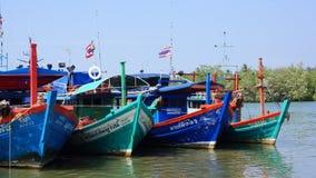 Satun Fishing Trawlers Royalty Free Stock Photography
