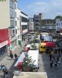 Saturady-Markt, Aalst, Belgien Lizenzfreie Stockfotos