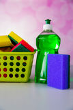 Saturated colors, washing concept Stock Photo