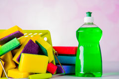 Saturated colors, washing concept Royalty Free Stock Photo