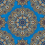 Saturated, oriental pattern Stock Image