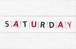 Saturday Royalty Free Stock Images